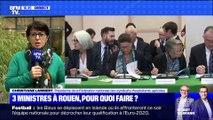 Trois ministres à Rouen, pour quoi faire ? (3/4) - 11/10