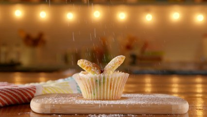 Confetti Butterfly Cupcakes