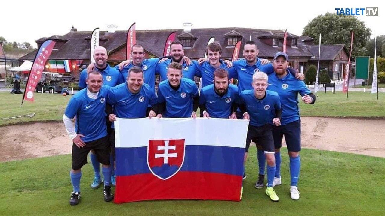 Footgolfista Tomáš KIKUŠ: Mať J. Kozáka v tíme, tak sme majstri Európy