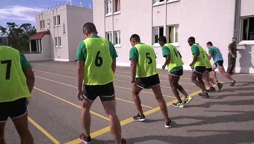 Tests sportifs recrutement Légion étrangère Luc léger - Shuttle run