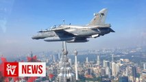 RMAF, RAF aircraft fly low near Twin Towers in joint exercise