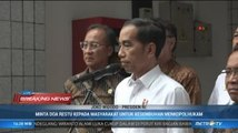 Jokowi Minta Masyarakat Doakan Kesembuhan Wiranto