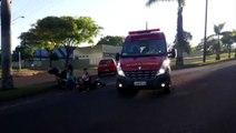 Acidente deixa homem ferido na região do Coqueiral