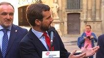 Casado señala a Navarra como clave para acuerdos tras el 10N