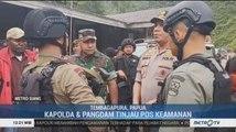 Kapolda dan Pangdam Papua Tinjau Pos Keamanan