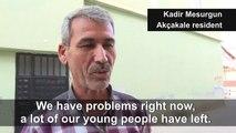 Turkey border town Akçakale residents consider options during Syria strikes