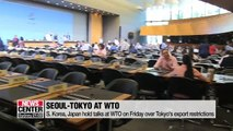 S. Korea, Japan hold talks at WTO on Friday over Tokyo's export restrictions