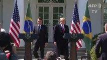Trump reafirma apoio à entrada do Brasil na OCDE