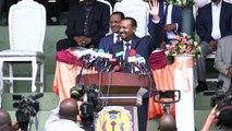 Portrait du Premier ministre éthiopien Abiy Ahmed