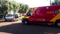 Acidente deixa duas crianças feridas no Alto Alegre