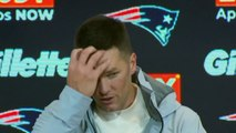 """NFL - Tom Brady after victory over the Giants : """"I'm happy we won"""""""