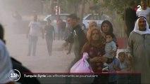 Offensive turque en Syrie : l'exode des Kurdes se poursuit