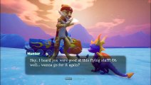 Spyro Reignited Trilogy (PC), Spyro 2 Ripto Rage Playthrough Part 18 Icy Speedway and Metro Speedway