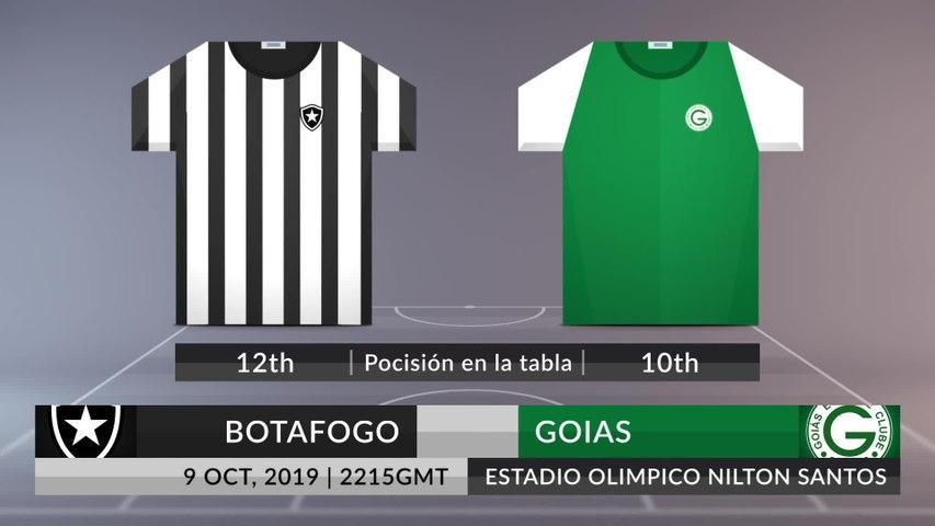 Match Preview: Botafogo vs Goias on 09/10/2019