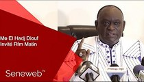 "Me El Hadji Diouf : ""Ki may wakh doumako toudou, dou meu..."""