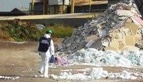 Origgio (VA) - Sequestrato deposito non autorizzato di rifiuti (11.10.19)