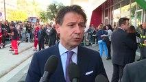 Isernia - Punto stampa del Presidente Conte (11.10.19)