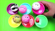 Peppa Pig Play Doh Surprise Toys Cups Preschool Learning And Teach Kids Colors!