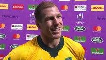 David Pocock post match interview