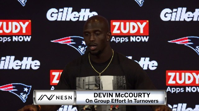 Devin McCourty Patriots vs. Giants Week 6 Postgame Press Conference