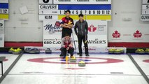 World Curling Tour, Canad Inns Men's Classic 2019 Calvert (Can) v Kim (Kor)