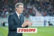 Pourquoi Laurent Blanc met du temps à trouver un banc - Foot - L1 - OL