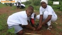 Changement Climatique: La Fondation ''Plant for the Planet'' engage les enfants de Gagnoa