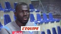 Koulibaly «C'est le paradoxe, j'ai été super bien accueilli» - Foot - ITA - Naples