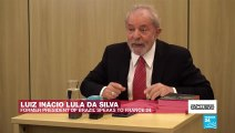"""#EXCLUSIVE - Lula da Silva on FRANCE24: """"I don't want a lighter sentence. I want my innocence"""""""