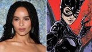 Zoe Kravitz Set to Star as Catwoman in 'The Batman' | THR News
