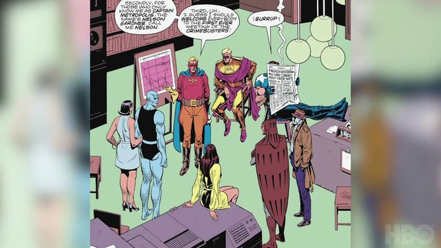 Watchmen HBO - The Legacy of Watchmen