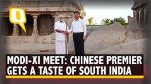Modi-Xi Meet Begins With Veshti, Heritage Walk and Nariyal Paani | The Quint