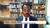 Ethiopian PM Abiy Ahmed awarded for peace initiative in Eritrea