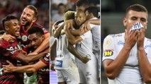 As chances de título, G4 e rebaixamento no Brasileiro