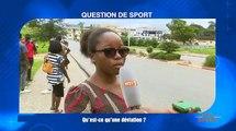 Question de sport   Qu'est ce qu'une déviation au football