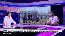 Ramzi Boukhiam .. 1er surfeur Marocain qualifié aux JO  - 11/10/2019