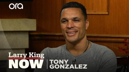 """""""There's no way you could've told me"""": Tony Gonzalez on his Pro Football Hall of Fame induction"""