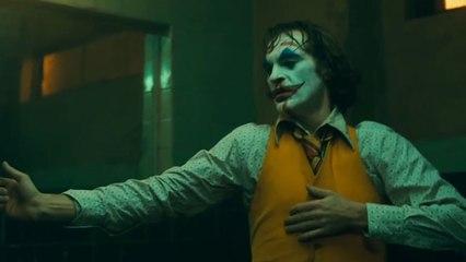 Joker - Bathroom Dance Scene Clip - Joaquin Phoenix