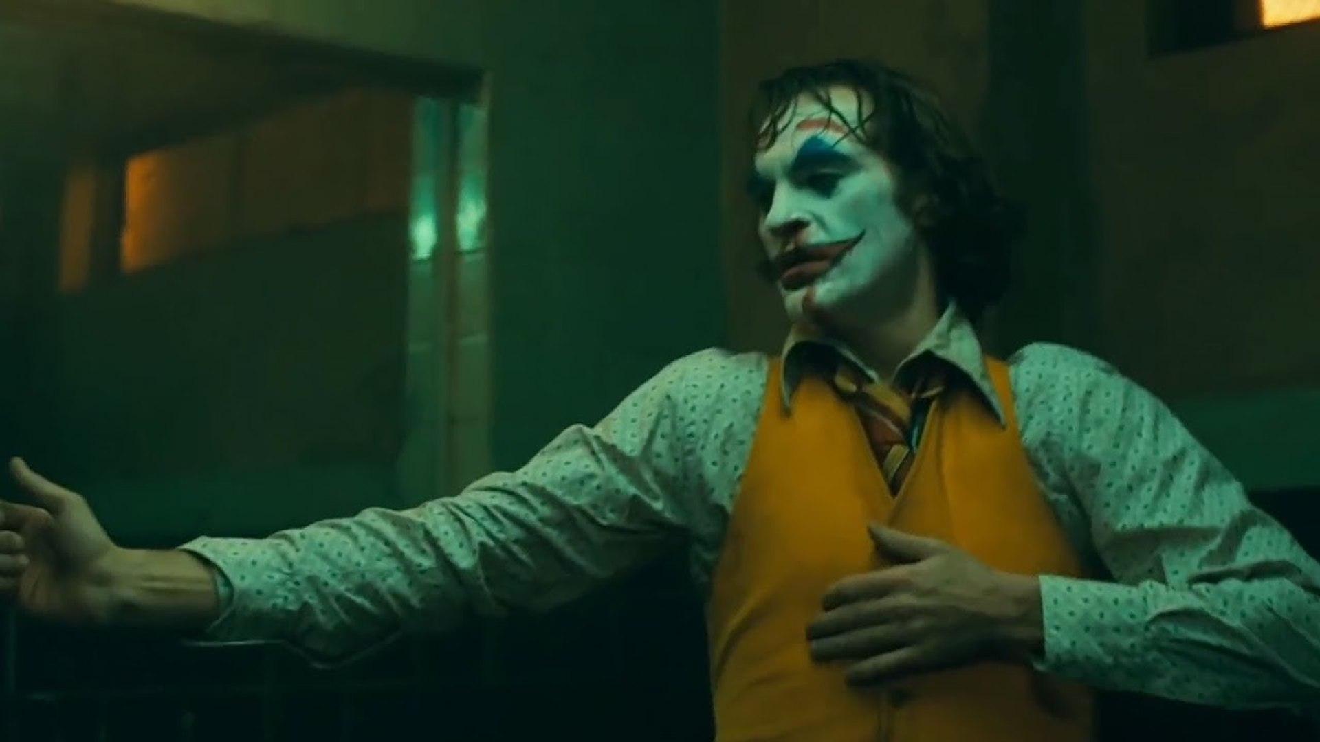 Joker Bathroom Dance Scene Clip Joaquin Phoenix