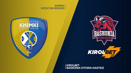 EuroLeague 2019-20 Highlights Regular Season Round 2 video: Khimki 79-76 Baskonia