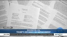 Trump's Defiance on Impeachment Tests the Constitution