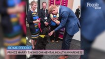 Prince Harry Celebrates World Mental Health Day in Town That Holds a Special Meaning