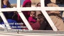En Syrie, l'histoire se répète pour les déplacés kurdes