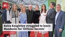 Keira Knightley Is Learning Mandarin