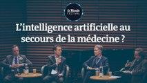 L'intelligence artificielle au secours de la médecine ? Un débat du Monde Festival