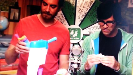 rhett and link are making ice cream