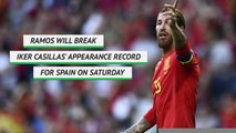 Sergio Ramos - Spain's record breaker