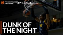 Endesa Dunk of the Night: Jeremy Evans, Khimki Moscow region