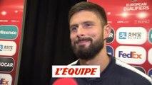 Giroud «On a été très solides» - Football - Qualif. Euro