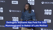 DeAngelo Williams Pays Tribute To His Mom